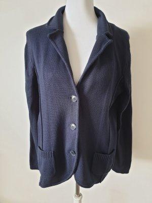 Olsen Giacca in maglia blu scuro
