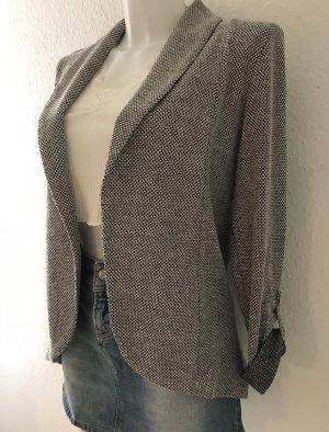 Blazer in maglia grigio