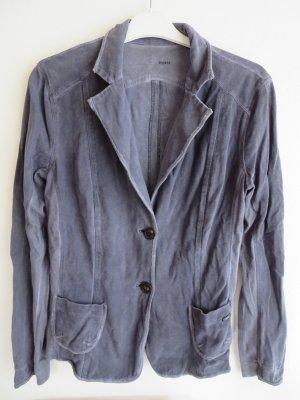 marc cain sports Sweat Blazer grey violet cotton