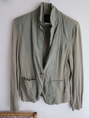 Blazer Sweat grün Leinen Casual