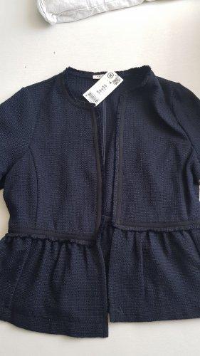 Orsay Blazer in tweed blu scuro