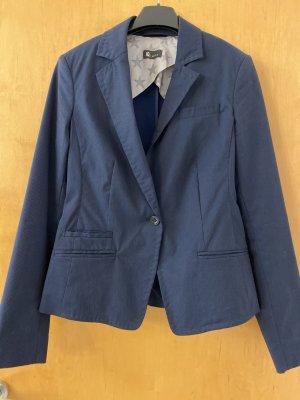 Blazer, tailliert, Gr.36, marineblau mit Nadelstreifen, IQ Berlin