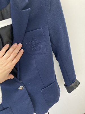 Reserved Jersey Blazer azul oscuro