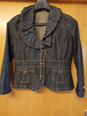 Blazer und Rock Kombi in Jeans
