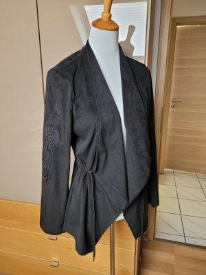 Desigual Lange blazer zwart