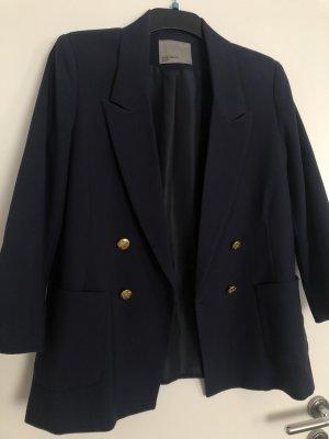 Vero Moda Blazer corto color oro-azul oscuro
