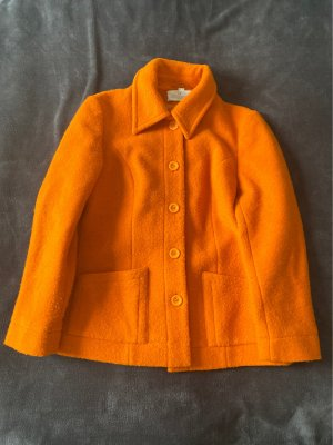 ae elegance Fleece Jackets dark orange