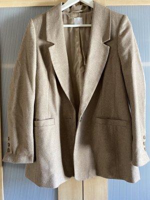 Alba Moda Boyfriend blazer grijs-bruin