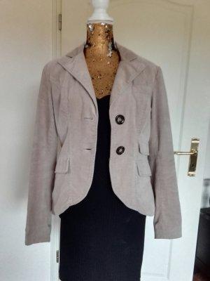 Amisu Blazer in lana beige chiaro