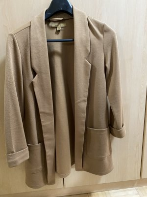 Amisu Sweat Blazer cognac-coloured-beige