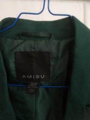 Amisu Korte blazer donkergroen