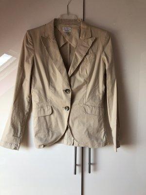 Armani Jeans Blazer court beige clair