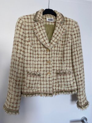 Angel Biba Blazer en tweed multicolore