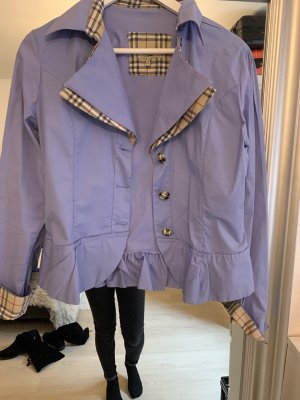 Burberry London Blazer unisexe bleu azur
