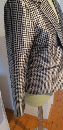 CC Double O Klassischer Blazer wit-donkerblauw Polyester