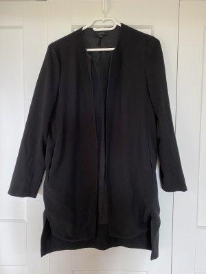 COS Lange blazer zwart Polyester
