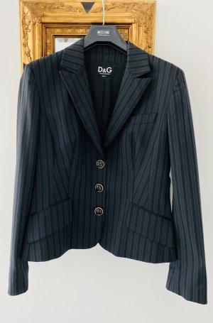 Dolce & Gabbana Unisex blazer blauw-donkerblauw