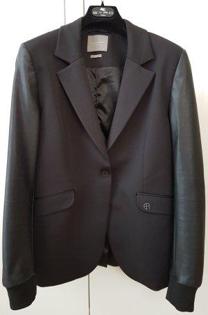 Elias Rumelis Leather Blazer black