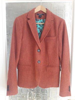 Gant Wollen blazer donker oranje Wol