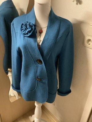 Gerry Weber Tweed Blazer turquoise