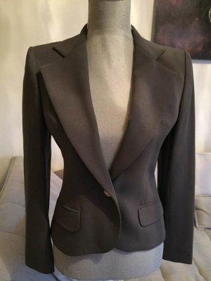 Givenchy Blazer en laine gris anthracite-argenté