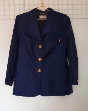 Givenchy Blazer largo color oro-azul oscuro