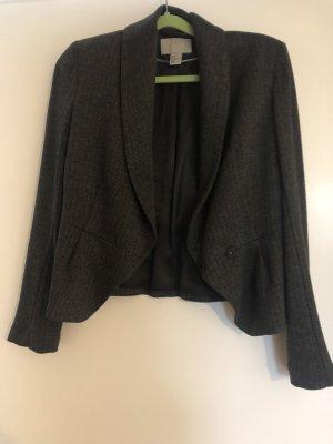 H&M Tweed Blazer grey