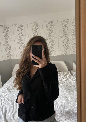 H&M Marynarka dresowa czarny