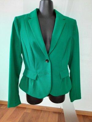 H&M Marynarka dresowa turkusowy-khaki