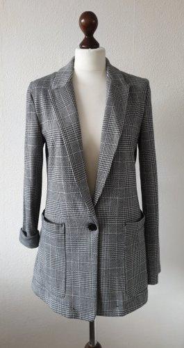 Blazer von H&M * Gr.38 * kariert * schwarz-weiß