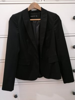 Hallhuber Klassischer Blazer czarny