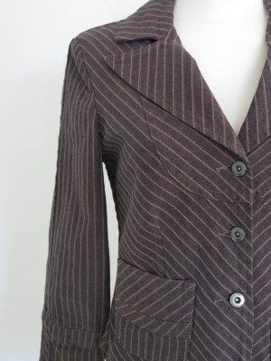 Heine Blazer in jeans marrone scuro-marrone chiaro Cotone