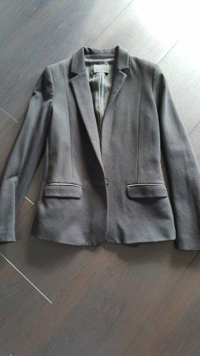 Karl Lagerfeld Blazer de tela de sudadera negro