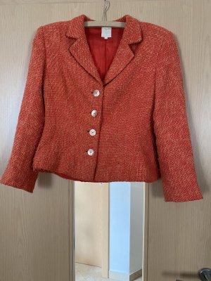 Knitted Blazer orange