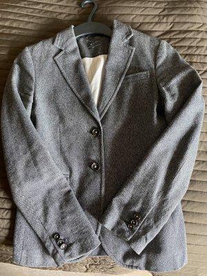 Marc O'Polo Blazer en jean gris foncé-gris