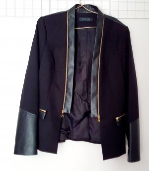 Guess by Marciano Leather Blazer black polyamide