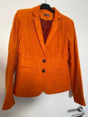 Montego Tweed blazer oranje