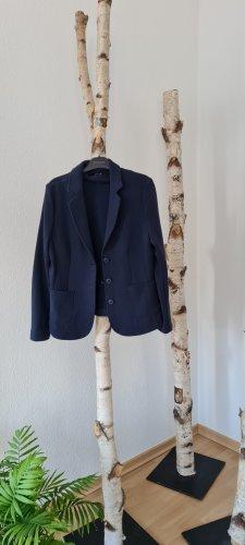 Opus Jersey blazer blauw