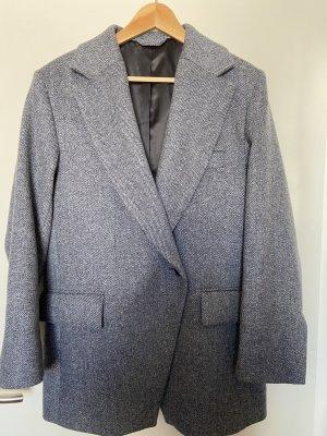 AndOtherStories Wool Blazer slate-gray wool