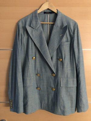 Polo Ralph Lauren Blazer in jeans azzurro-oro