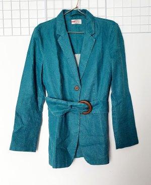 Prada Klassischer Blazer bleu cadet lin