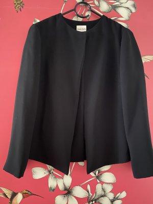 Reiss Short Blazer black