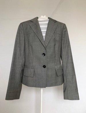 René Lezard Blazer de lana gris-gris oscuro