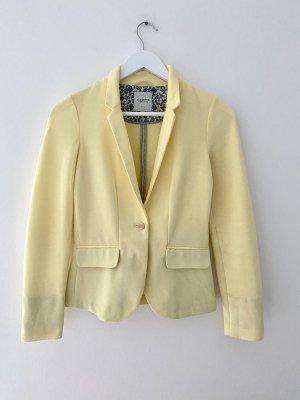 Reserved Jersey Blazer pale yellow