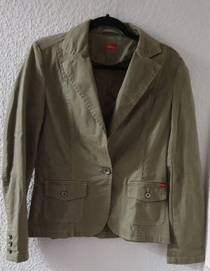 s.Oliver Blazer in jeans grigio-verde