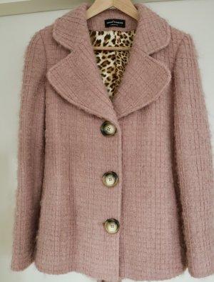 Wool Blazer dusky pink wool