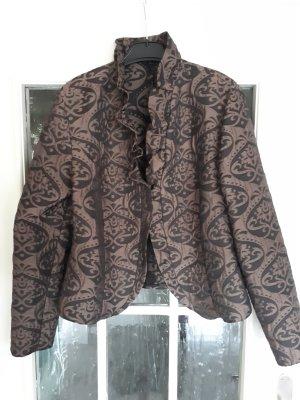 Steilmann Korte blazer zwart-brons Polyester