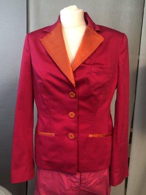 Thomas Rath Blazer corto rosa-rosso Cotone