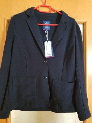 Tom Tailor Sweat Blazer dark blue