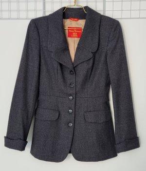 Vivienne Westwood Wollen blazer donkergrijs-antraciet Wol